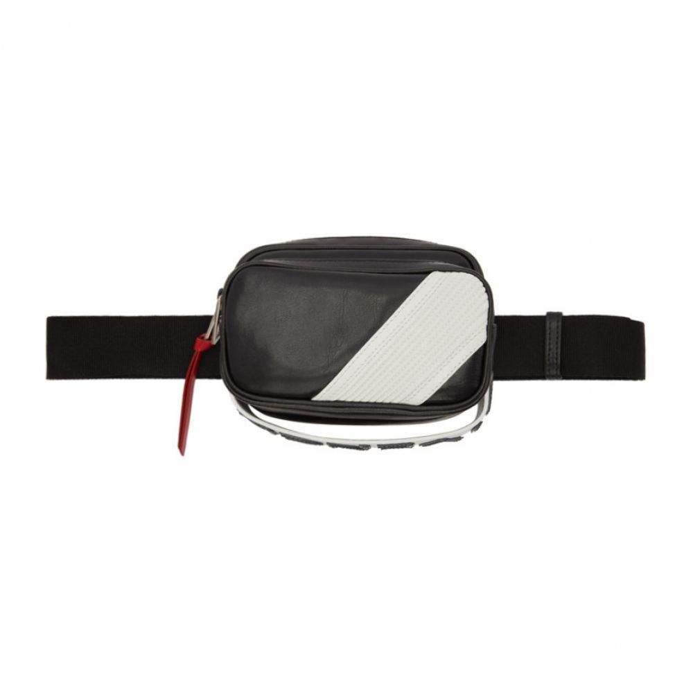 ジバンシー Givenchy メンズ バッグ ボディバッグ・ウエストポーチ【Black MC3 Belt Bag】Black/White