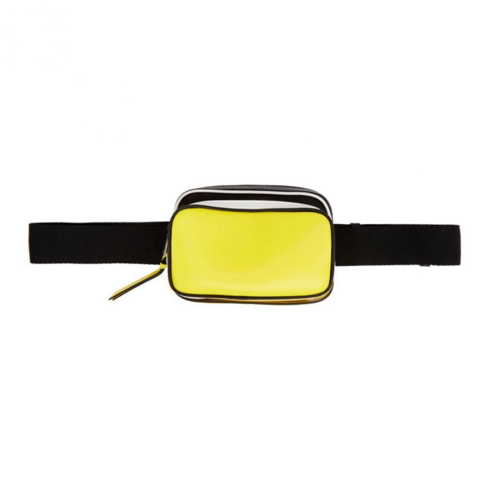 ジバンシー Givenchy メンズ バッグ ボディバッグ・ウエストポーチ【Black & Yellow MC3 Belt Bag】Black/White/Yellow