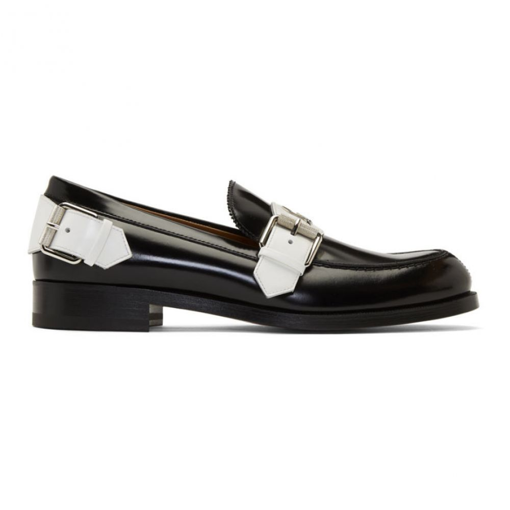クリスチャン ルブタン Christian Louboutin メンズ シューズ・靴 ローファー【Black Monmoc Flat Loafers】Black