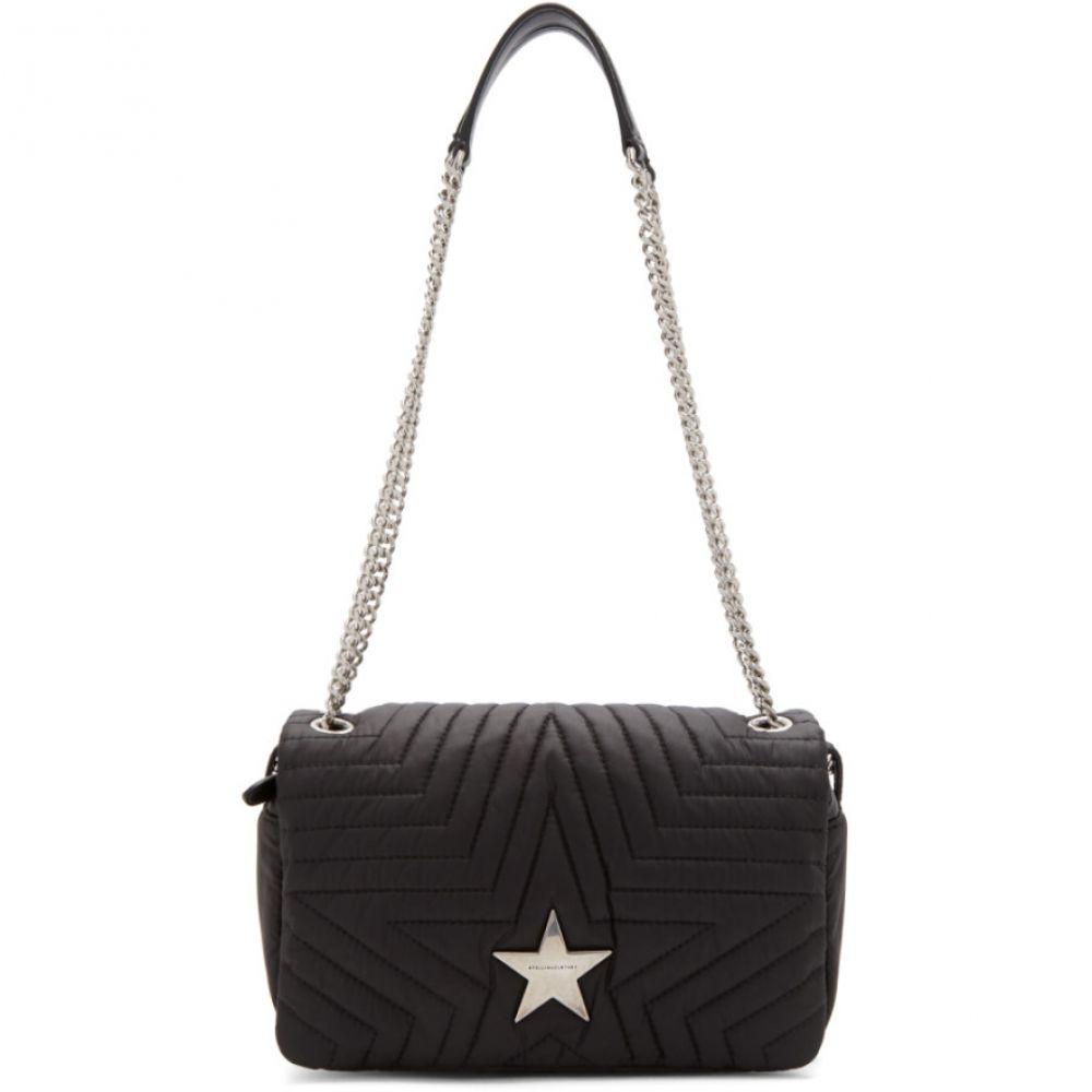 ステラ マッカートニー Stella McCartney レディース バッグ【Black Medium Flap Star Bag】Black