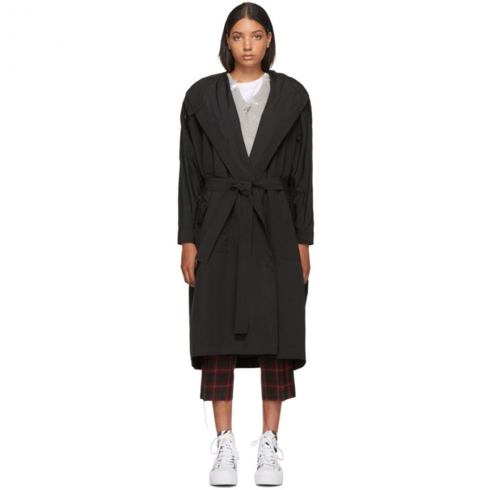 アレキサンダー マックイーン McQ Alexander McQueen レディース アウター コート【Black Festival Parka Wrap Coat】Black