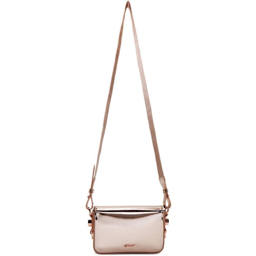 オフ-ホワイト 秀逸 Off-White レディース バッグ Pink Flap 激安通販販売 Mini Rame Mirror Bag