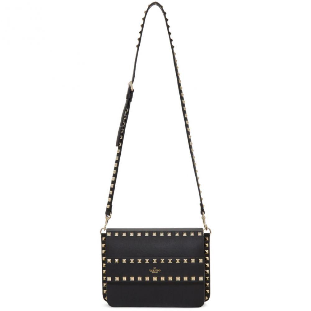 ヴァレンティノ Valentino レディース バッグ ショルダーバッグ【Black Garavani Small Rockstud Shoulder Bag】Black