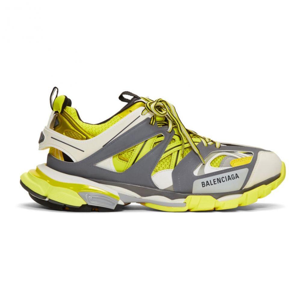バレンシアガ Balenciaga メンズ シューズ・靴 スニーカー【Yellow & Grey Track Runner Sneakers】