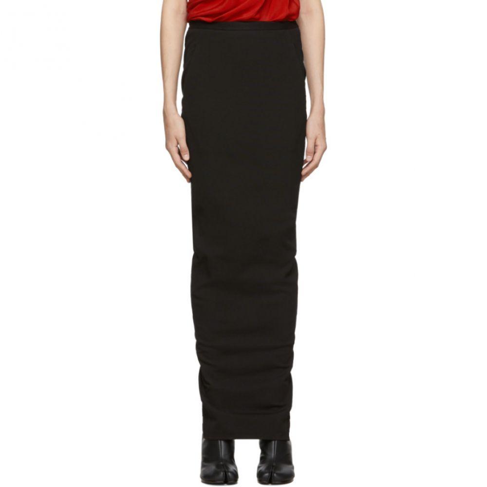 リック オウエンス Rick Owens レディース スカート【Black Soft Pillar Skirt】Black