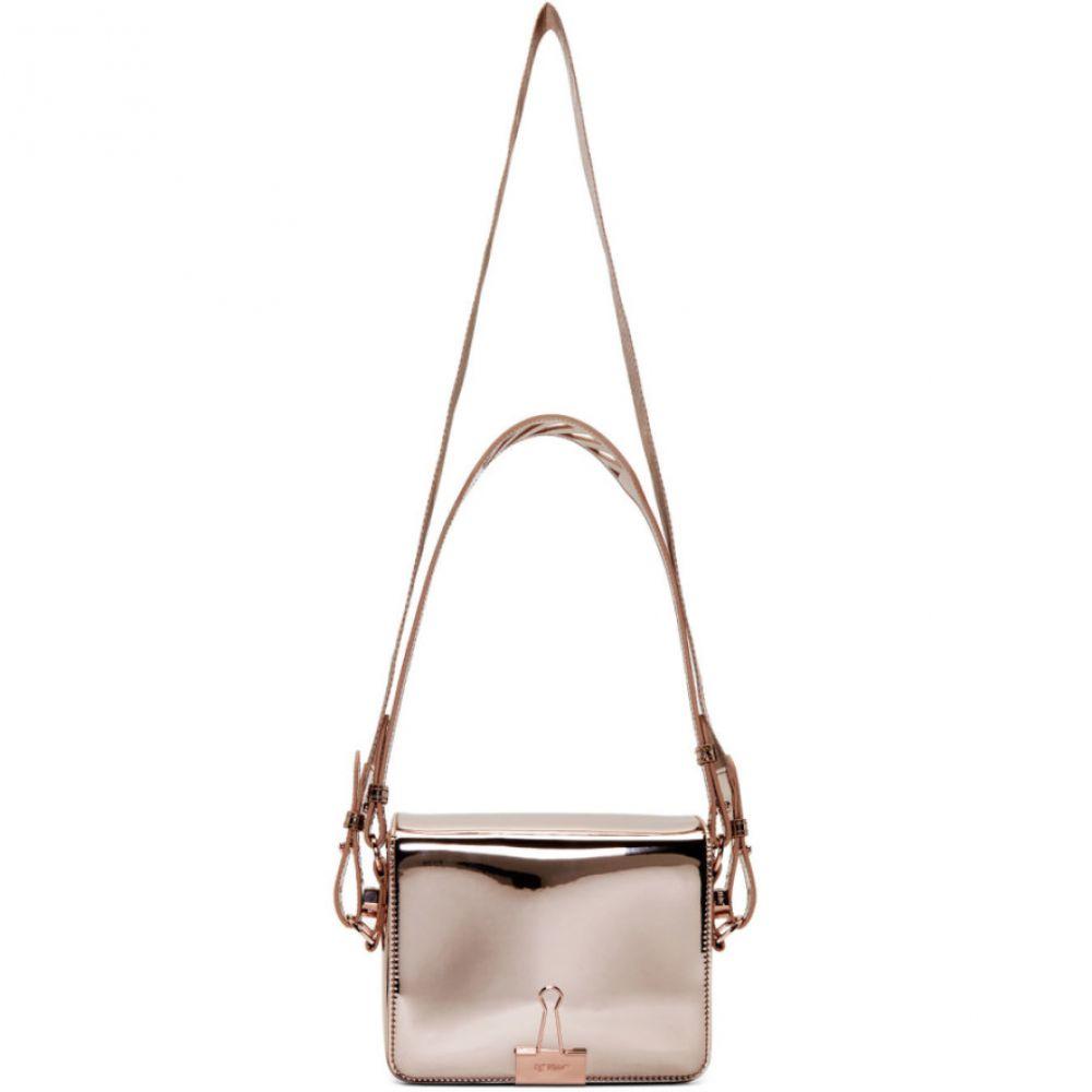 オフ-ホワイト Off-White レディース バッグ 期間限定特別価格 Pink Bag Rame Mirror Flap 贈物