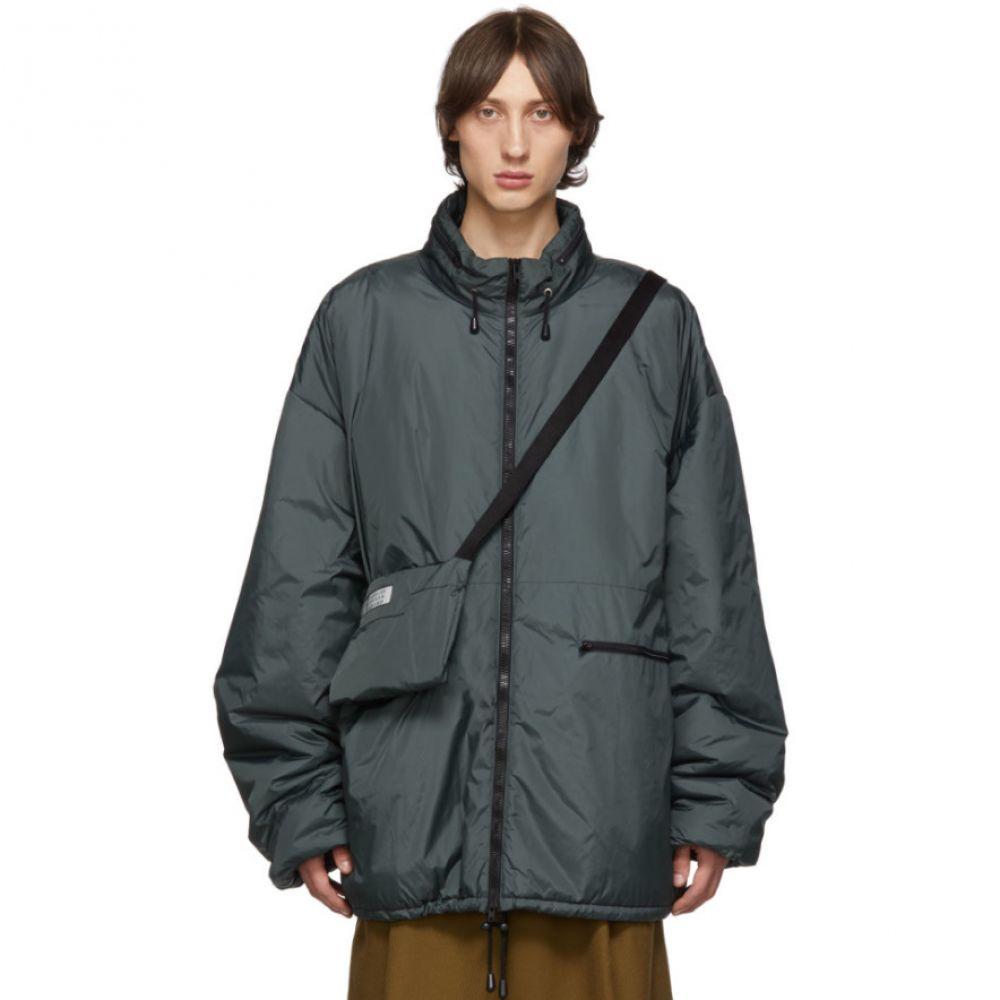 メゾン マルジェラ Maison Margiela メンズ バッグ ボディバッグ・ウエストポーチ【Grey Bum Bag Sports Jacket】Grey