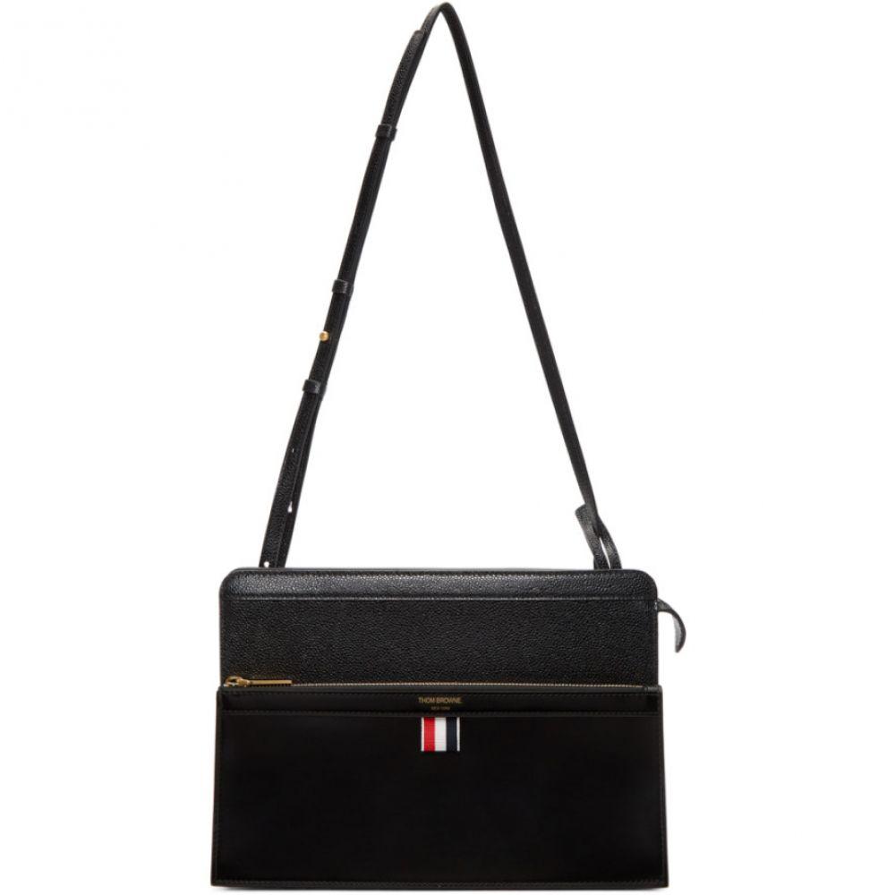 トム ブラウン Thom Browne レディース バッグ【Black Lady Folio Bag】Black