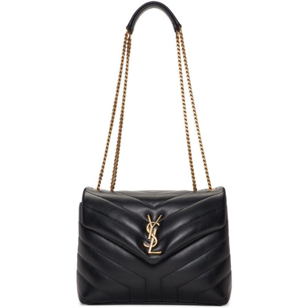 イヴ サンローラン Saint Laurent レディース バッグ【Black Small Loulou Bag】Black