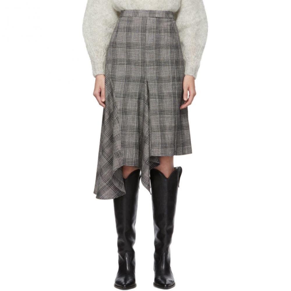 イザベル マラン Isabel Marant レディース スカート スカートスーツ【black & white diesty checked suit skirt】