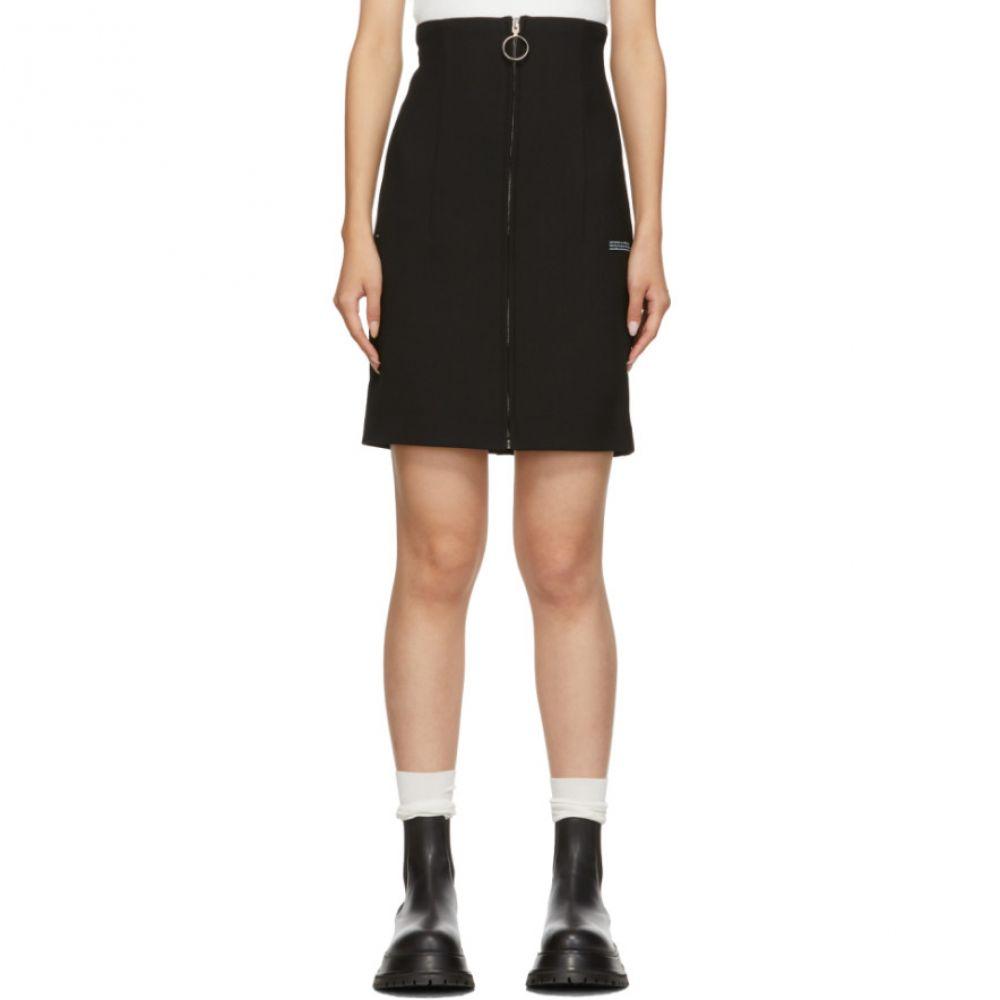 オフ-ホワイト Off-White レディース ミニスカート スカート【black formal miniskirt】