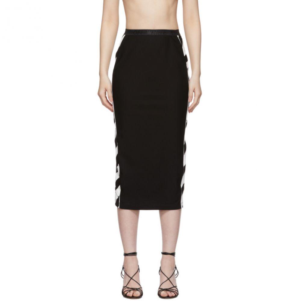 オフ-ホワイト Off-White レディース スカート 【black diag athletic skirt】