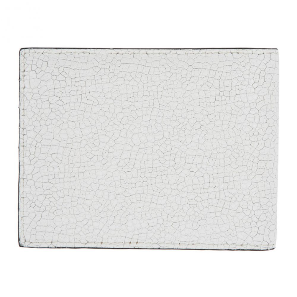 コモン プロジェクト Common Projects メンズ 財布 【white cracked standard wallet】