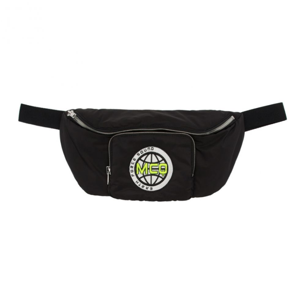 アレキサンダー マックイーン McQ Alexander McQueen メンズ ボディバッグ・ウエストポーチ バッグ【black hyper waist bag】