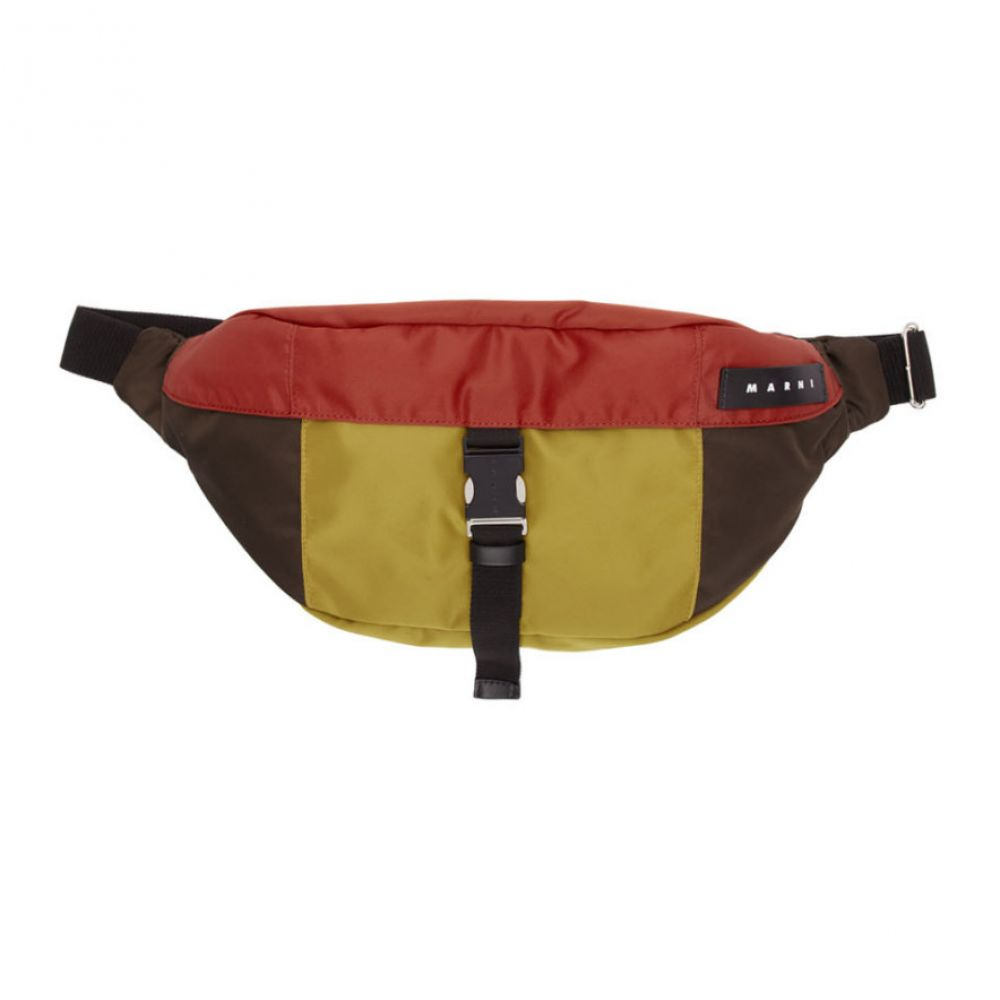 マルニ Marni メンズ ボディバッグ・ウエストポーチ バッグ【mulitcolor oversized belt bag】