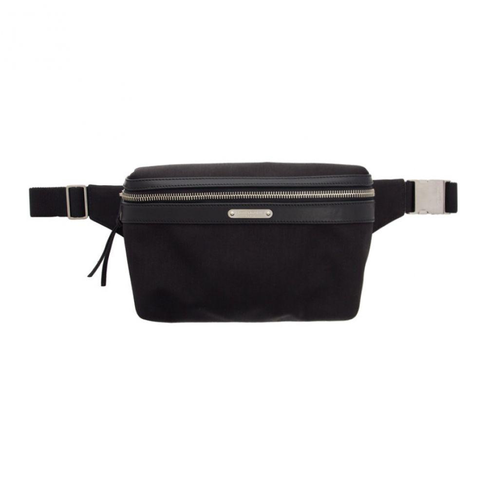 イヴ サンローラン Saint Laurent メンズ ボディバッグ・ウエストポーチ バッグ【black marsupio bum bag】