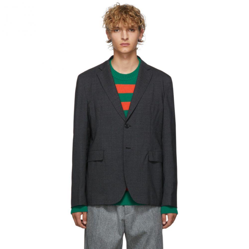 アクネ ストゥディオズ Acne Studios メンズ スーツ・ジャケット アウター【grey melange wool antibes suit blazer】