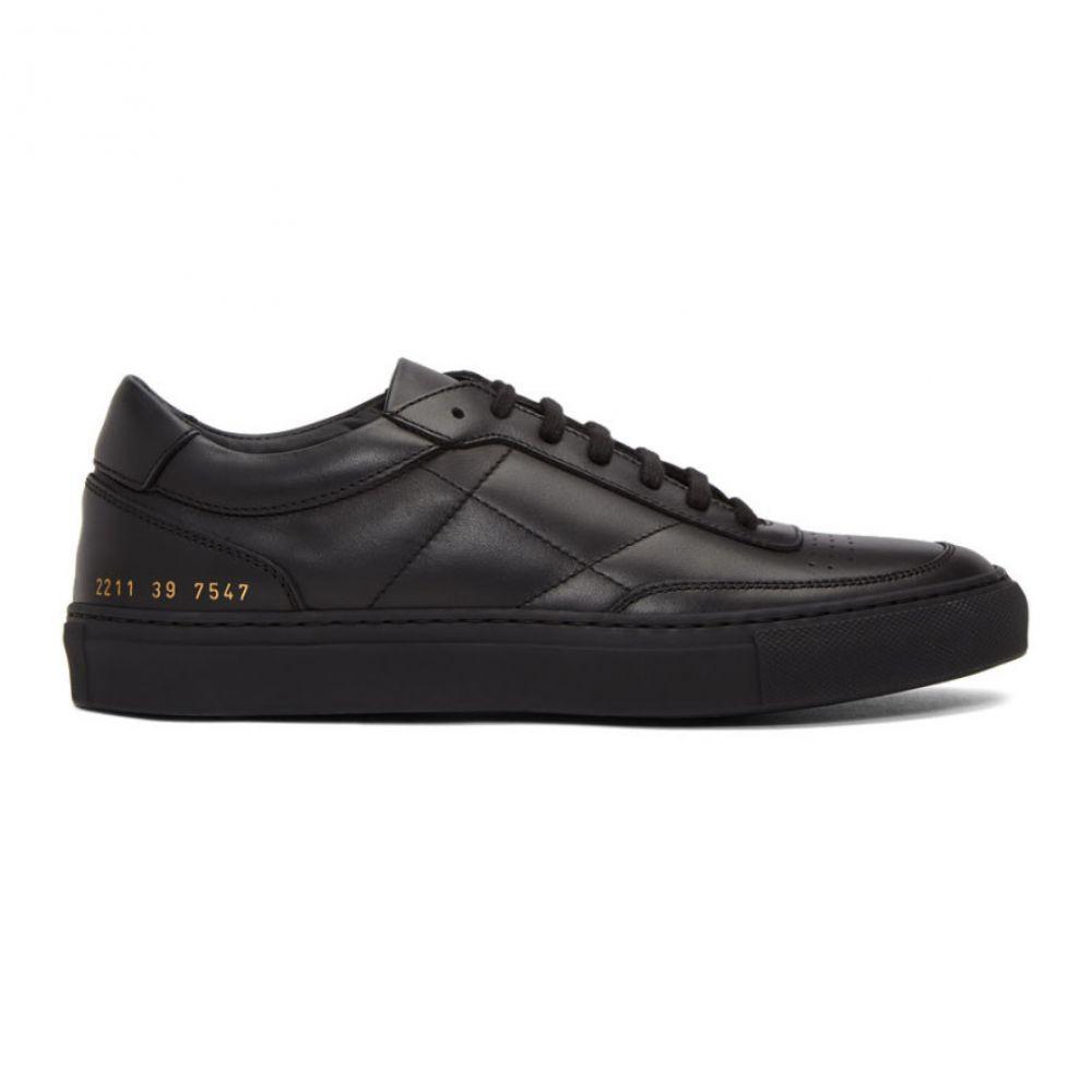 コモン プロジェクト Common Projects メンズ スニーカー シューズ・靴【black classic resort sneakers】