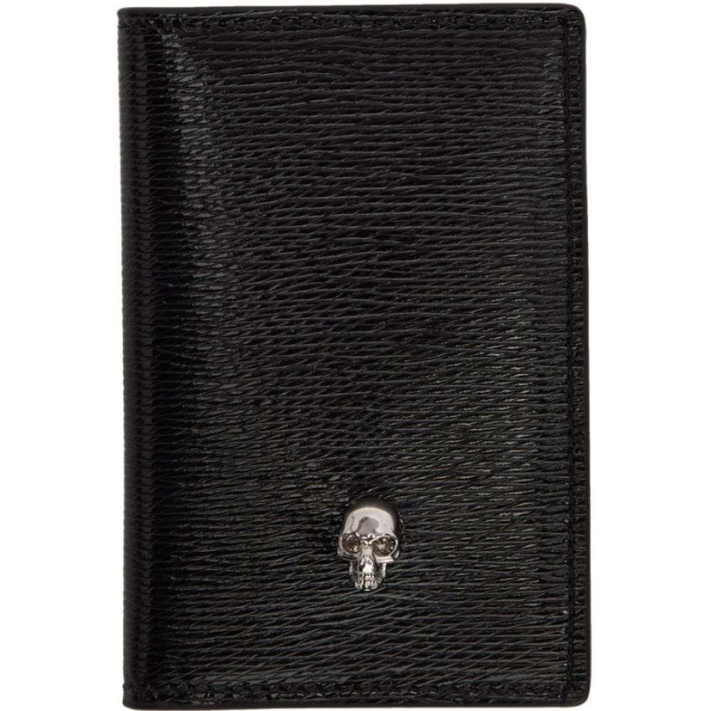 アレキサンダー マックイーン Alexander McQueen レディース 雑貨 【ssense exclusive black skull pocket organizer】