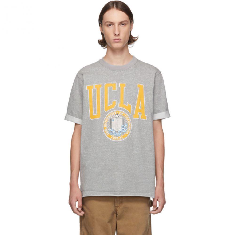 ジュンヤ ワタナベ Junya Watanabe メンズ Tシャツ トップス【grey vintage 'ucla' t-shirt】