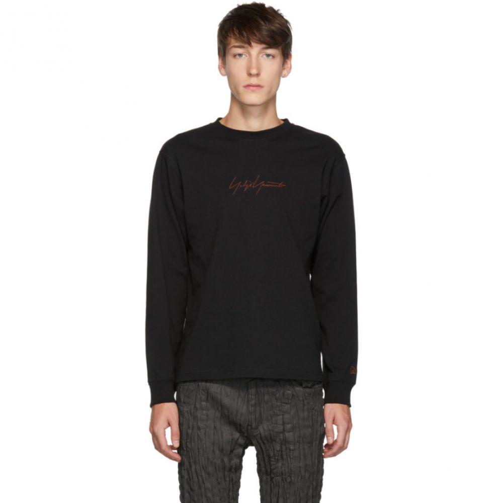 ヨウジヤマモト Yohji Yamamoto メンズ 長袖Tシャツ トップス【black new era edition long sleeve t-shirt】