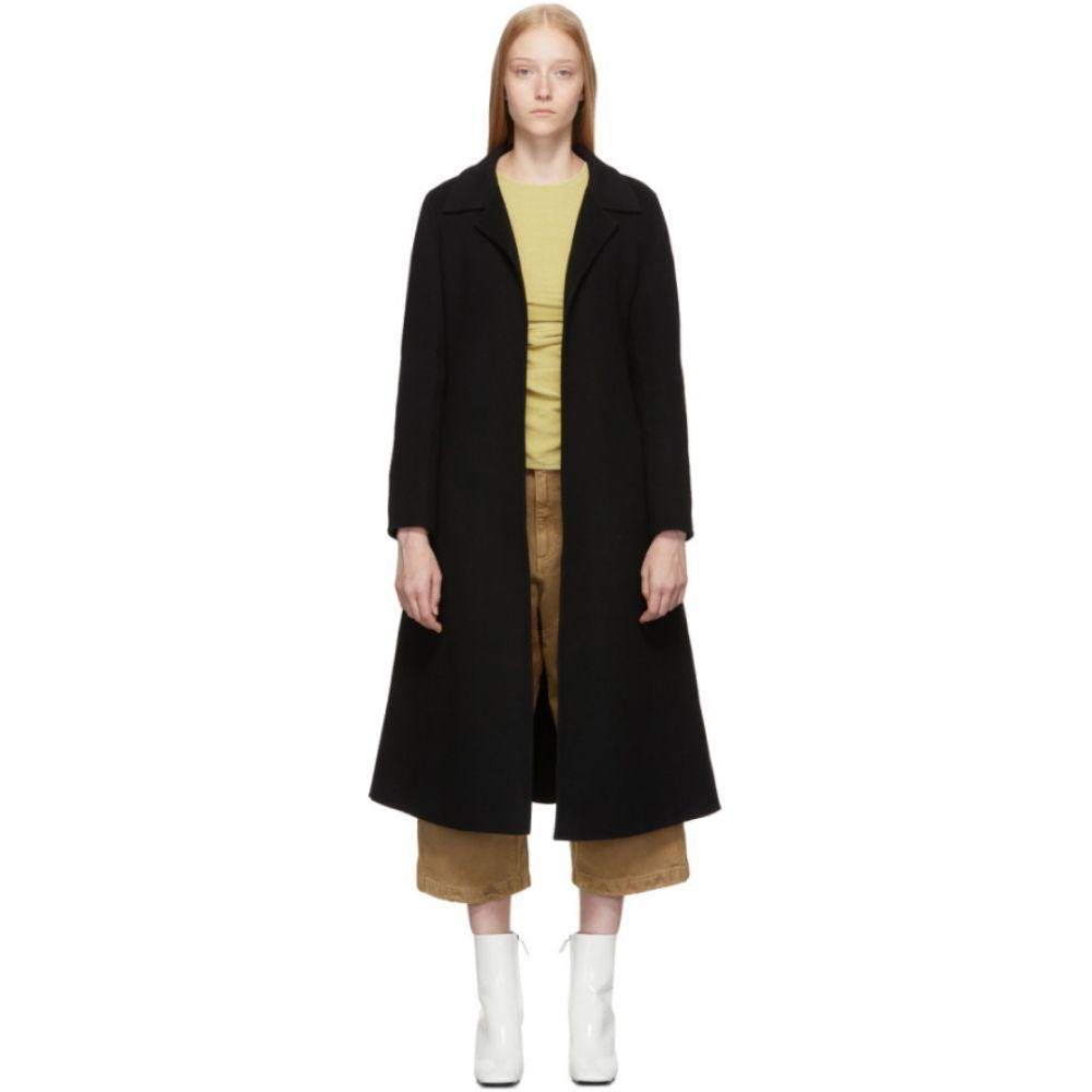 ザ ルーム The Loom レディース コート アウター【black wool a-line coat】