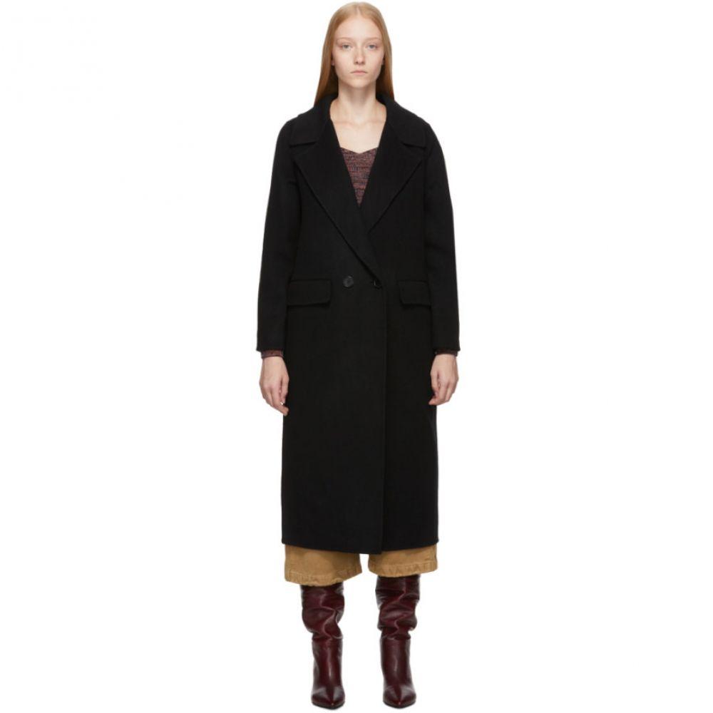 ザ ルーム The Loom レディース コート アウター【black wool double coat】