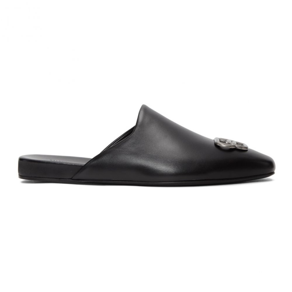バレンシアガ Balenciaga メンズ スリッパ シューズ・靴【black bb cosy slippers】