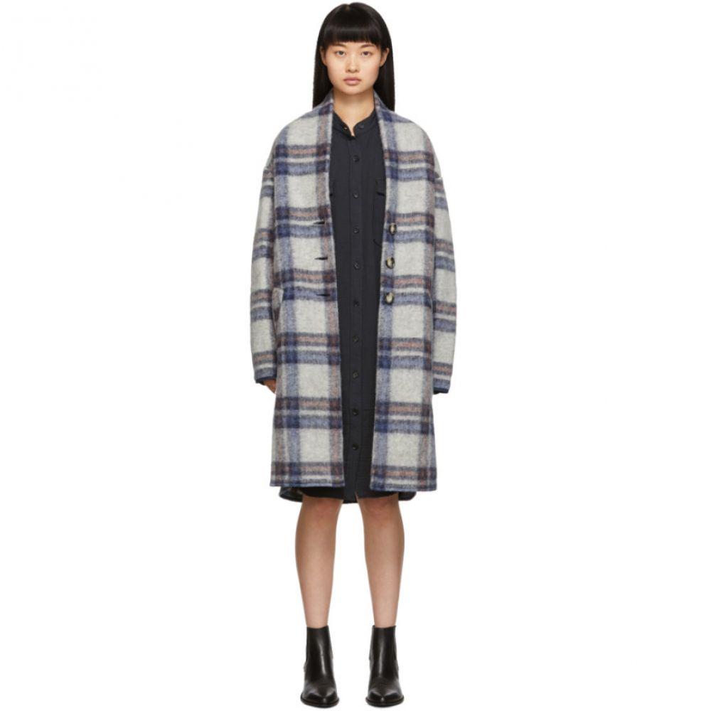 イザベル マラン Isabel Marant Etoile レディース コート アウター【grey check gabriel coat】