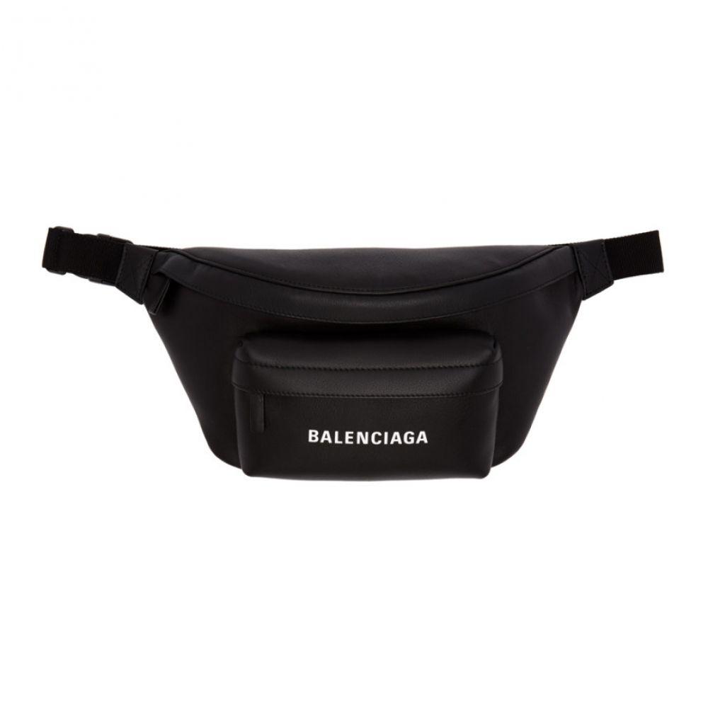 バレンシアガ Balenciaga メンズ ボディバッグ・ウエストポーチ バッグ【black & white everyday belt bag】