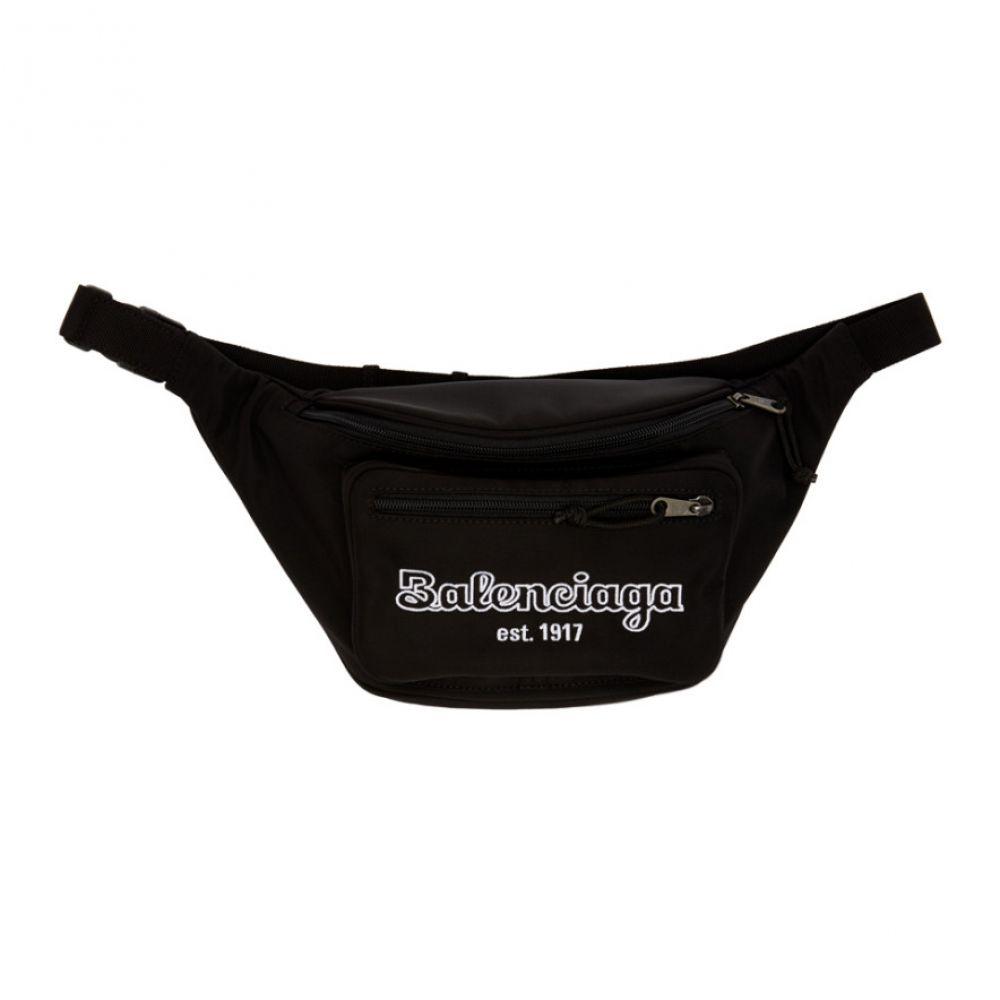バレンシアガ Balenciaga メンズ ボディバッグ・ウエストポーチ バッグ【black