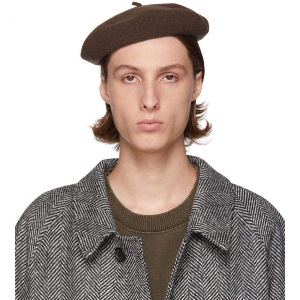ルメール メンズ 帽子 その他帽子 【サイズ交換無料】 ルメール Lemaire メンズ 帽子 ベレー帽【brown mini basque beret】