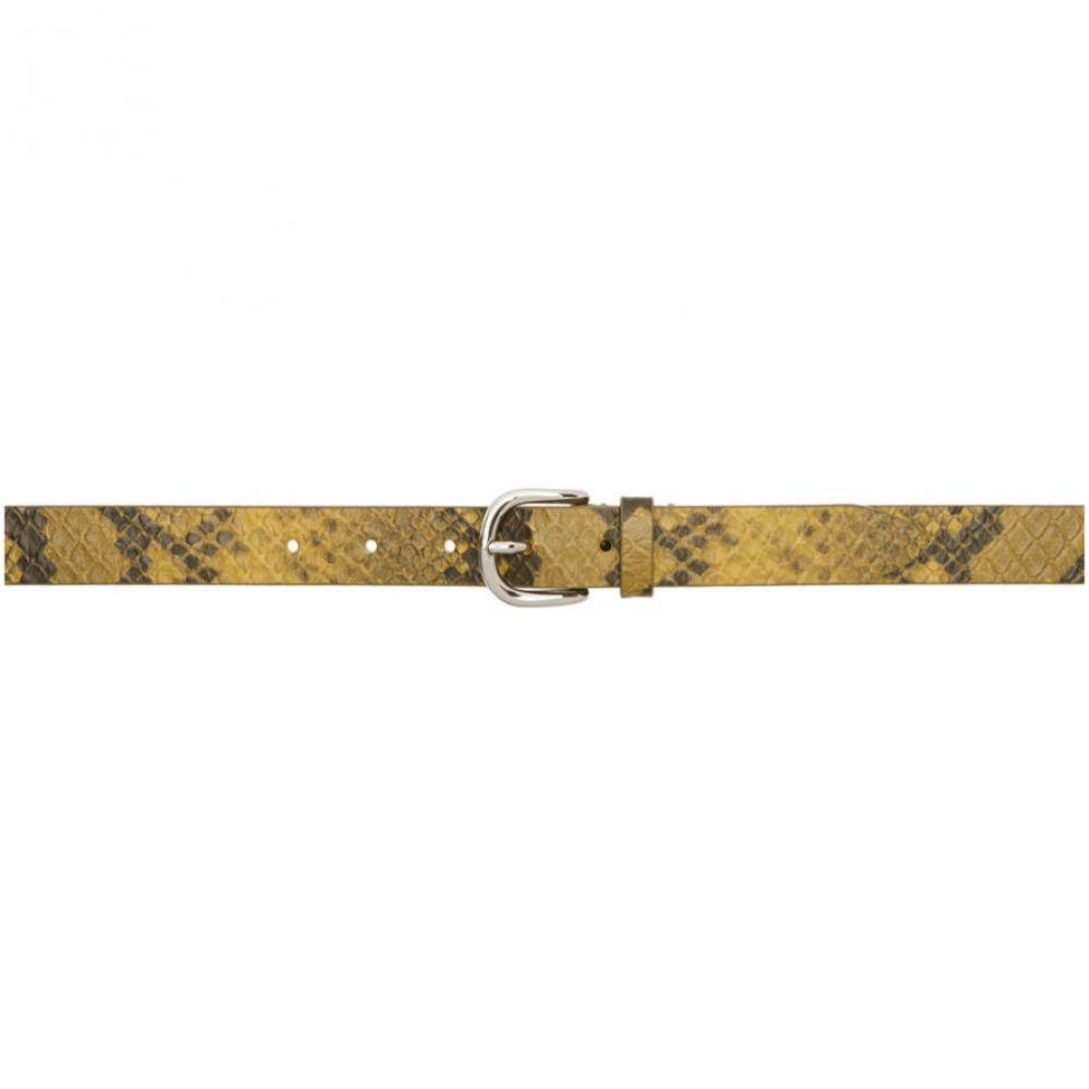 イザベル マラン Isabel Marant レディース ベルト 【yellow snake zap belt】