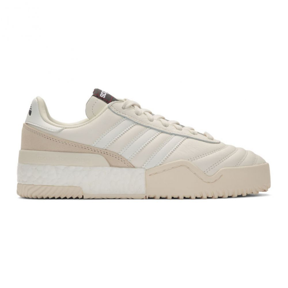 アディダス adidas Originals by Alexander Wang メンズ スニーカー シューズ・靴【white b-ball soccer sneakers】