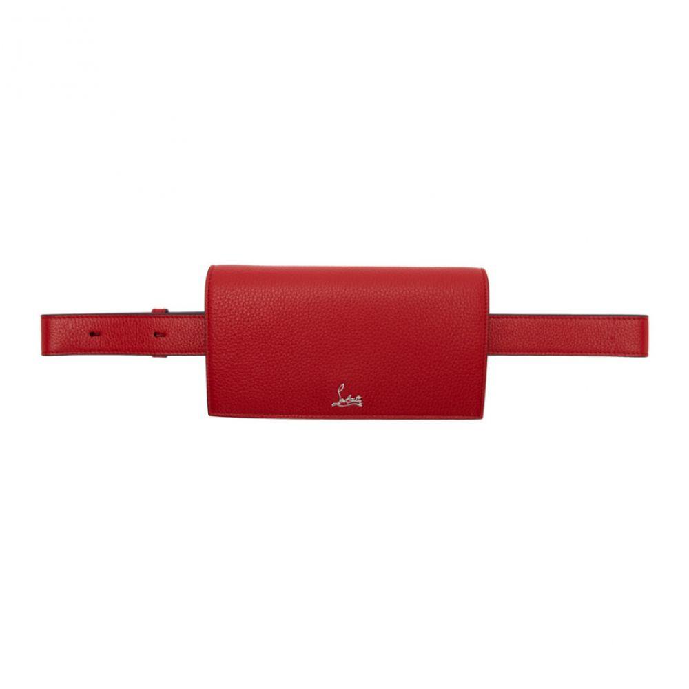 クリスチャン ルブタン Christian Louboutin レディース ボディバッグ・ウエストポーチ バッグ【red boudoir chain belt bag】