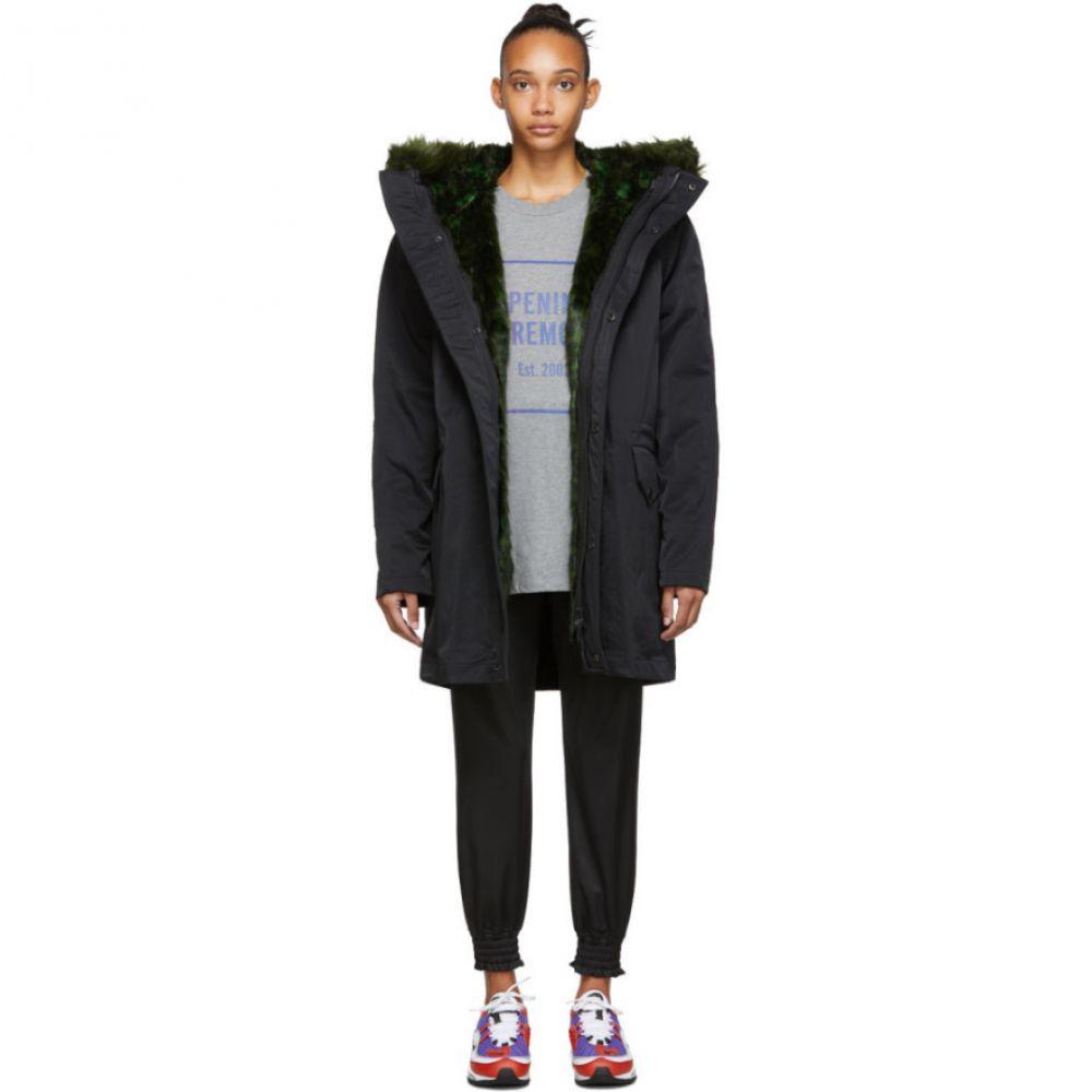 オープニングセレモニー Opening Ceremony レディース コート アウター【reversible black fur-lined coat】