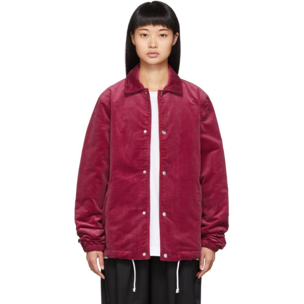 コム デ ギャルソン Comme des Garcons Shirt レディース ジャケット アウター【red corduroy jacket】