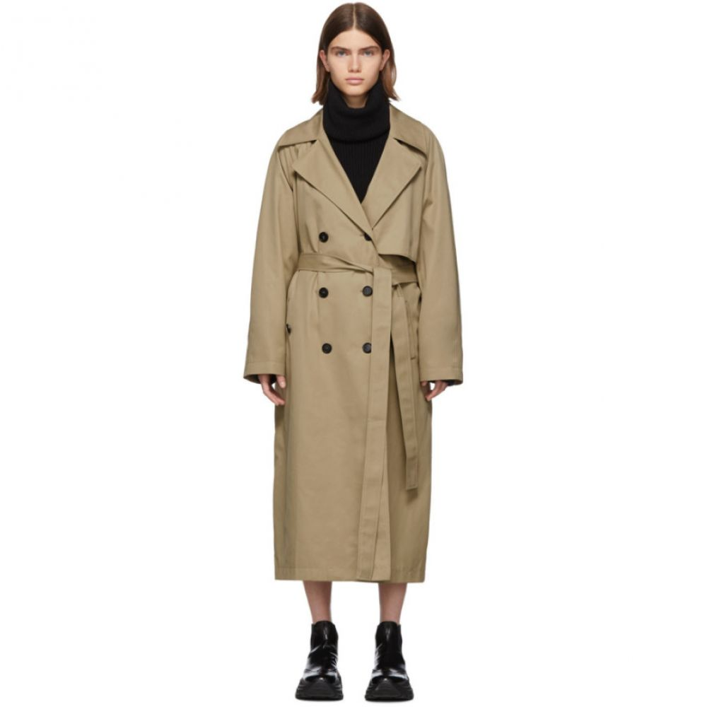ゲージ81 Gauge81 レディース トレンチコート アウター【tan nairobi trench coat】