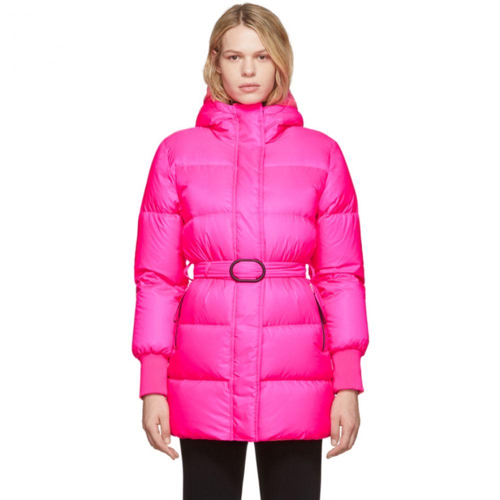 ケンゾー Kenzo レディース ダウン・中綿ジャケット アウター【pink down long quilted puffer jacket】
