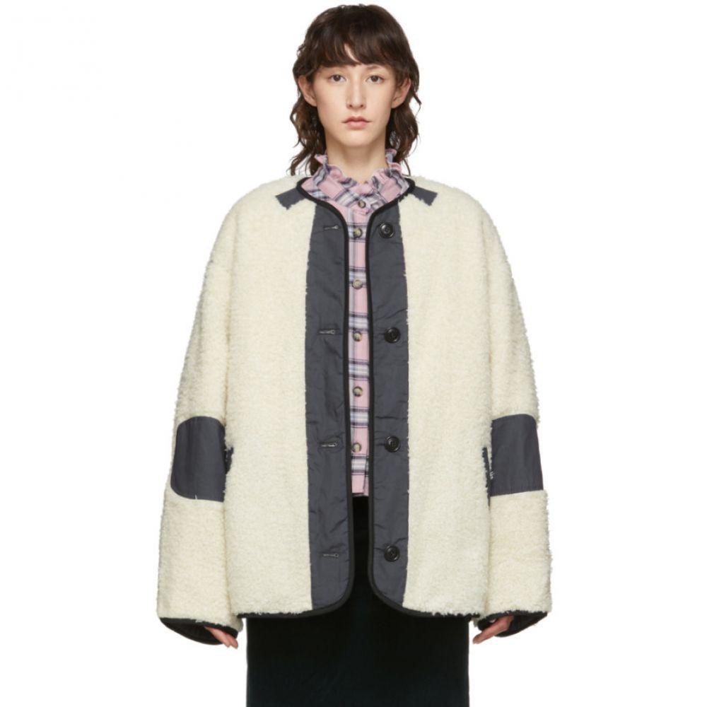 イザベル マラン Isabel Marant Etoile レディース コート アウター【off-white faux-fur padded demma coat】