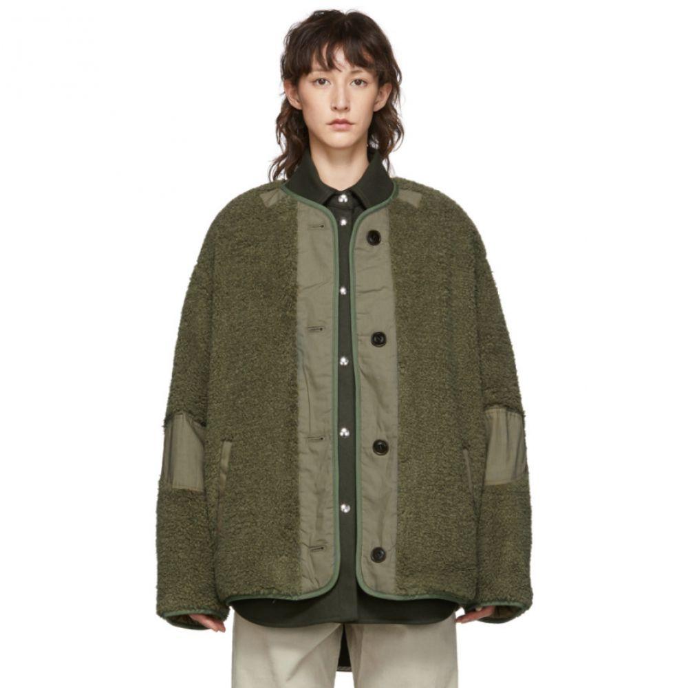 イザベル マラン Isabel Marant Etoile レディース コート アウター【green faux-fur padded demma coat】