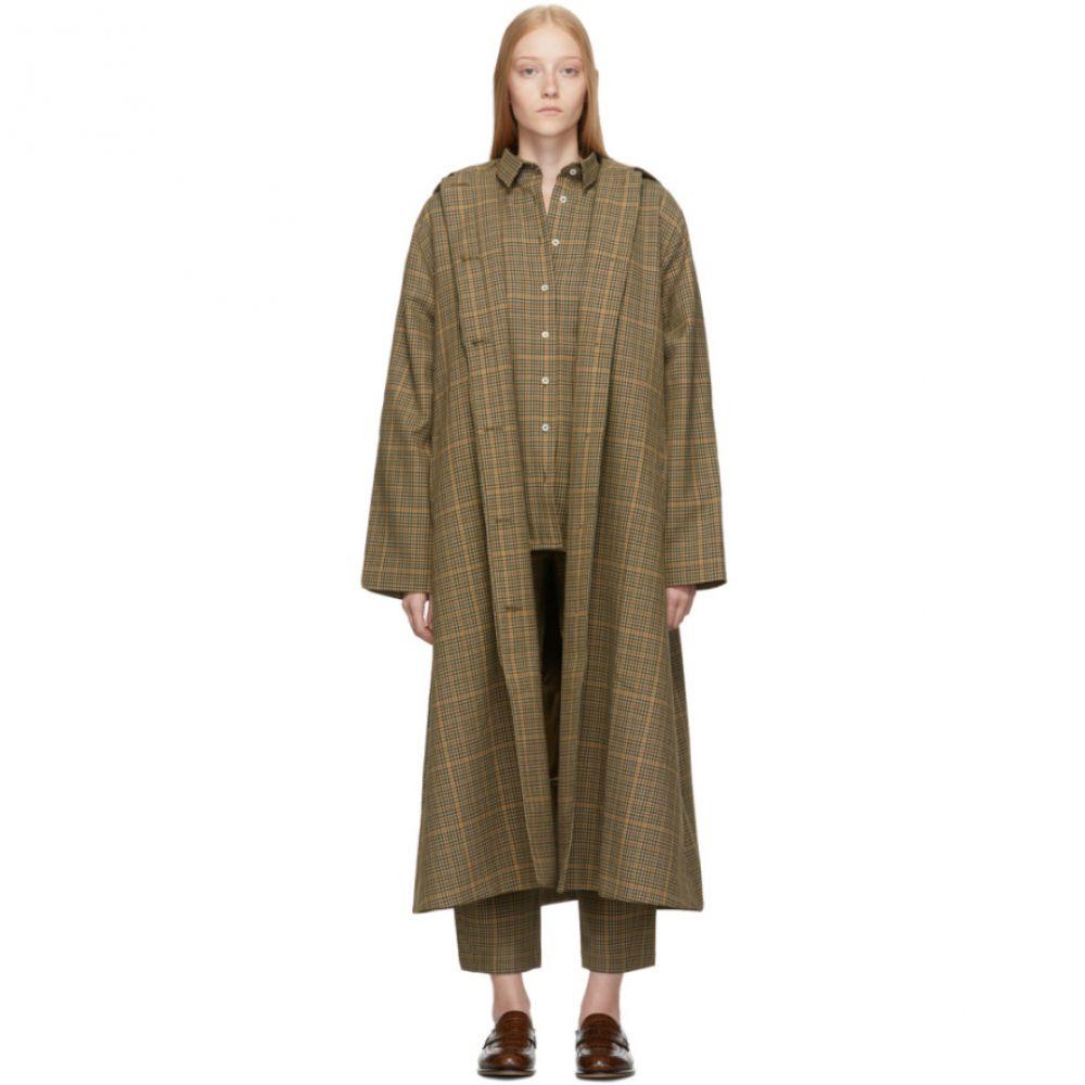 トーテム Toteme レディース コート アウター【tan check montella coat】