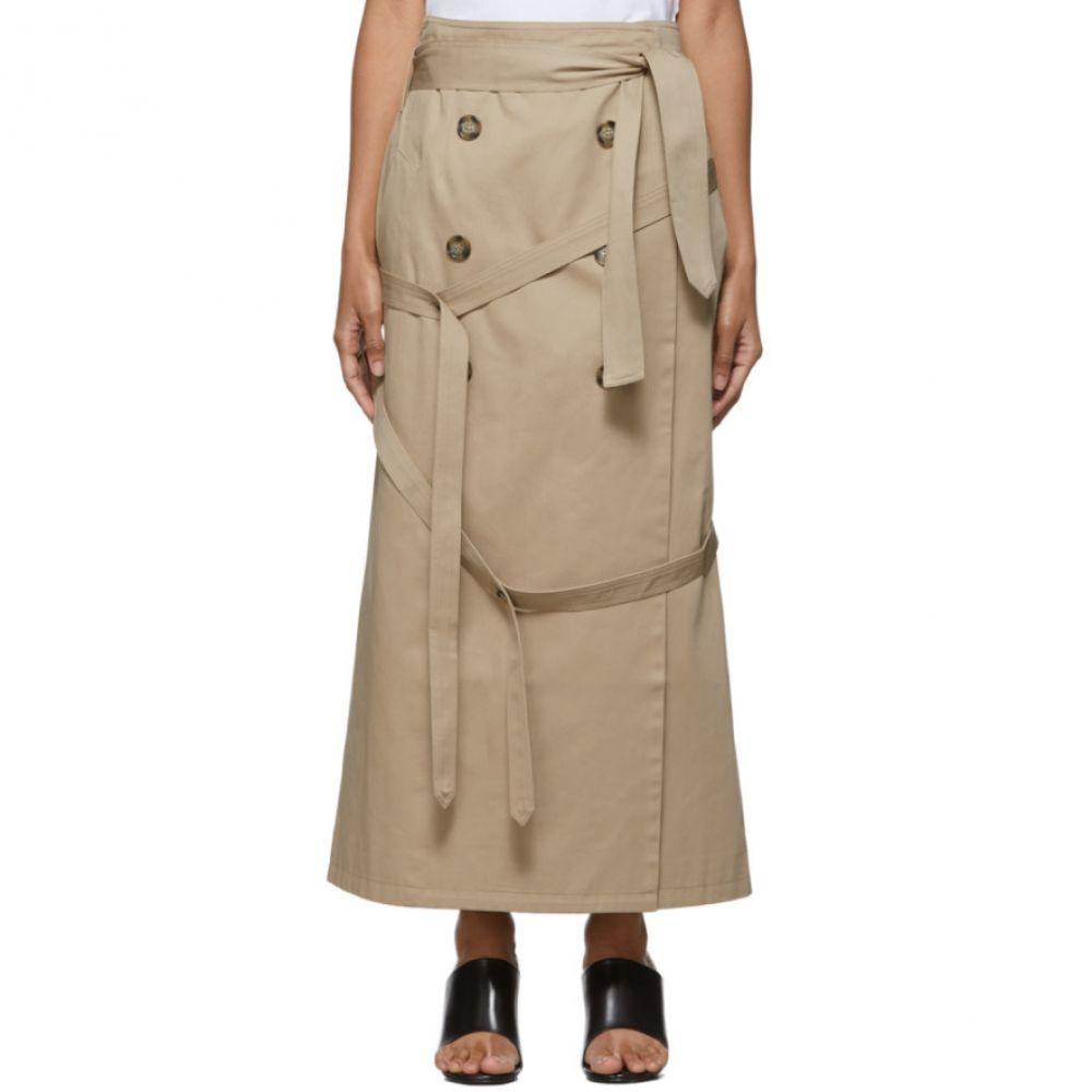 ロック Rokh レディース スカート ラップスカート【beige wrap skirt】