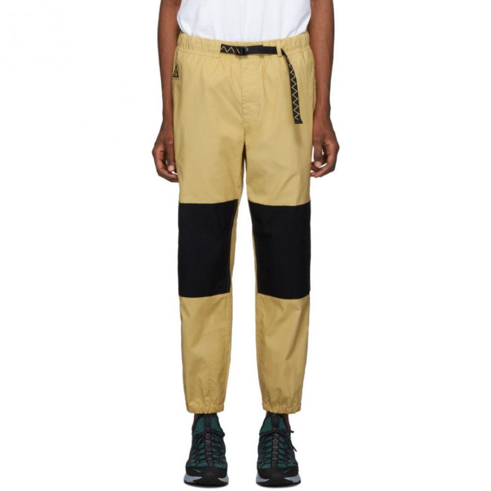 ナイキ Nike メンズ スウェット・ジャージ ボトムス・パンツ【yellow & black acg trail lounge pants】