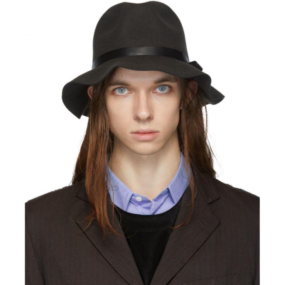 ニードルズ メンズ 帽子 その他帽子 【サイズ交換無料】 ニードルズ Needles メンズ 帽子 【black felt crusher hat】