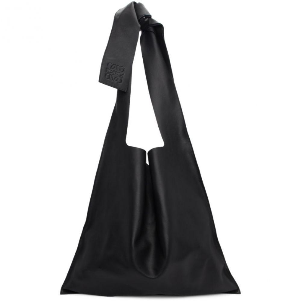 ロエベ レディース バッグ トートバッグ 【サイズ交換無料】 ロエベ Loewe レディース トートバッグ バッグ【black leather bow tote】