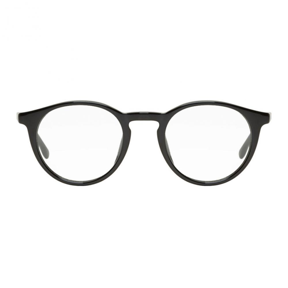 ヒューゴ ボス Boss メンズ メガネ・サングラス 【black round glasses】