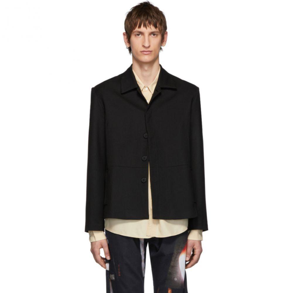 セラピス Serapis メンズ ジャケット アウター【black ballast jacket】