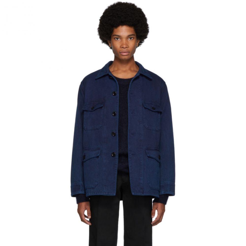 ブルーブルージャパン Blue Blue Japan メンズ ジャケット アウター【indigo sashiko hand-dyed jacket】