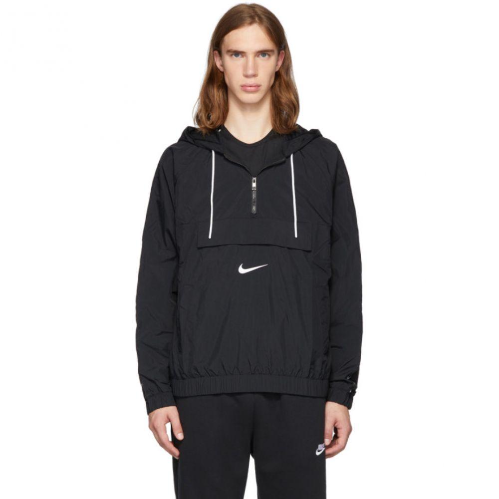 ナイキ Nike メンズ ジャケット アウター【black swoosh jacket】